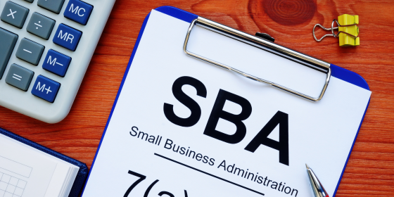 Ask your loan questions to the SBA- Small Business Administration